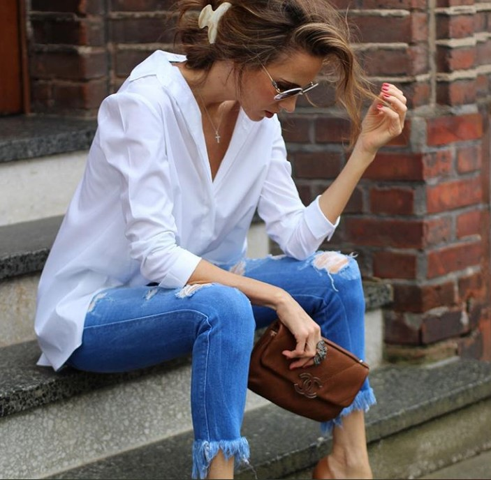40 yaş üstü kadınlar için bluz modelleri 20