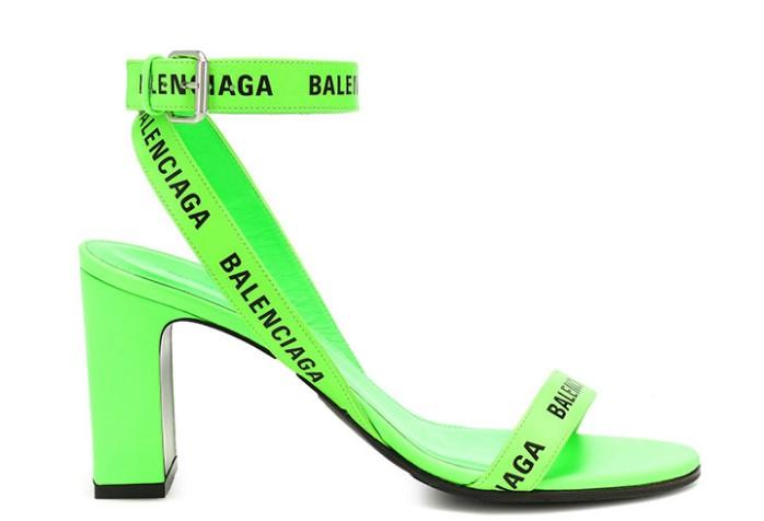 Balenciaga yüksek topuklu sandalet modeli 2019