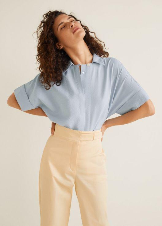 mango bluz modeli 2019 yaz