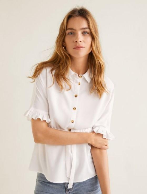 mango bluz modelleri 2019 yaz