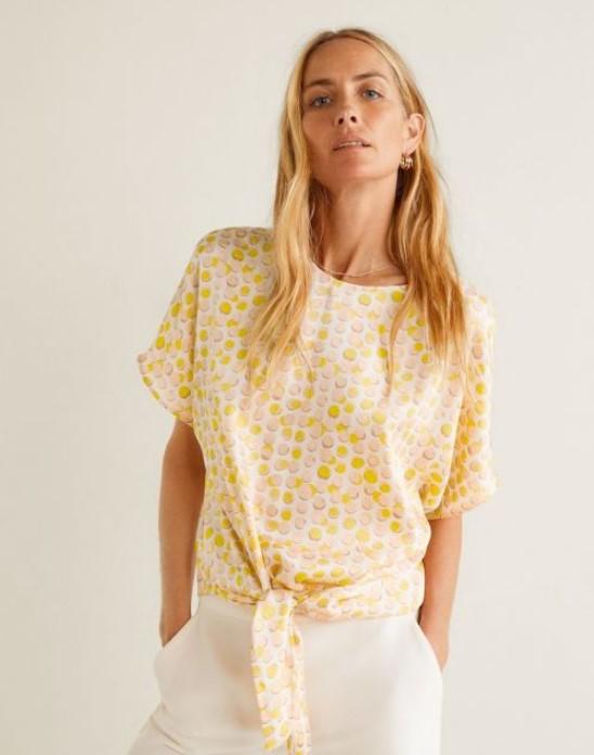 mango yazlık bluz modelleri 2019 2020