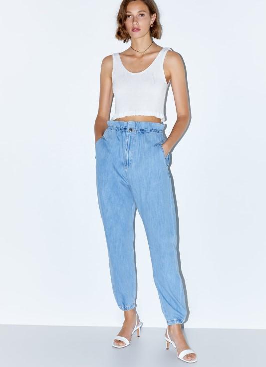 yazlık zara kot pantolonlar 2019 2020