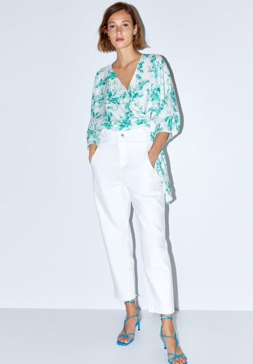 zara beyaz kot pantolon modelleri 2019 2020