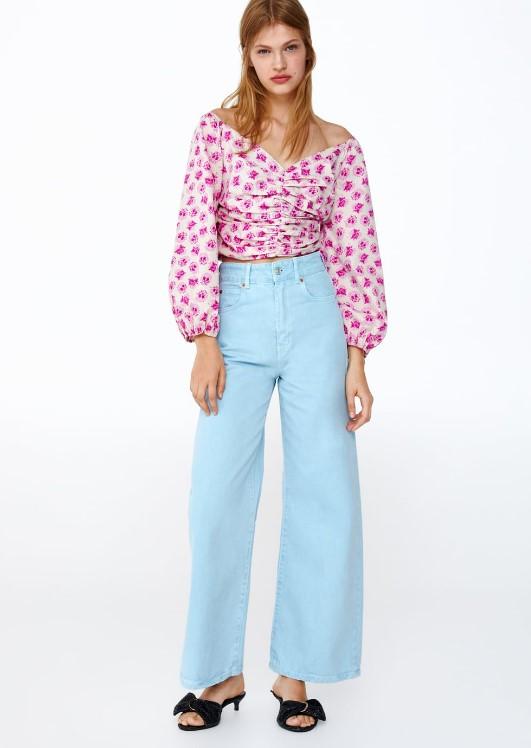 zara mavi kot pantolon modelleri 2019 2020
