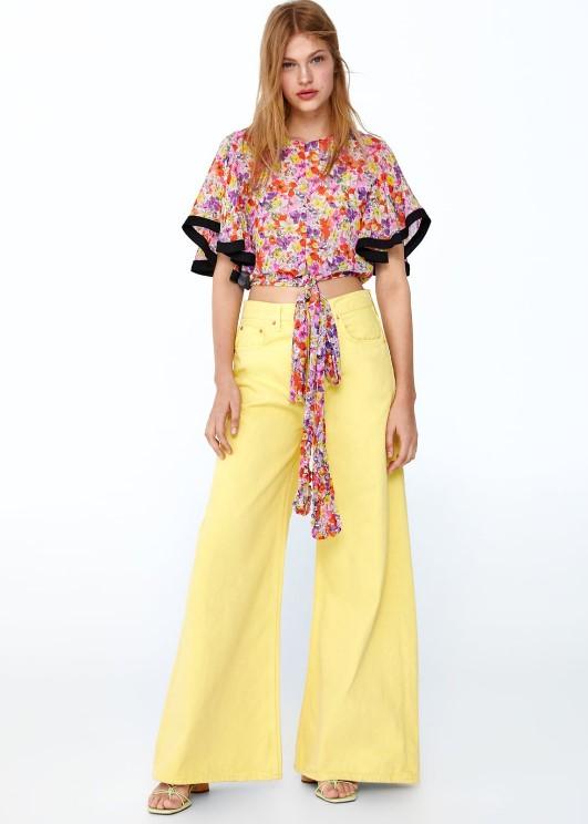 zara palazzo kot pantolon modelleri 2019 2020