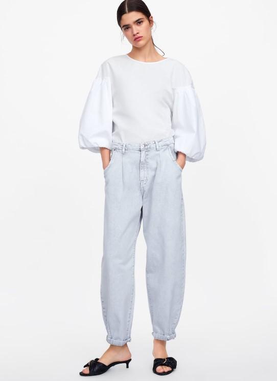 zara yeni yazlık kot pantolonlar 2019 2020