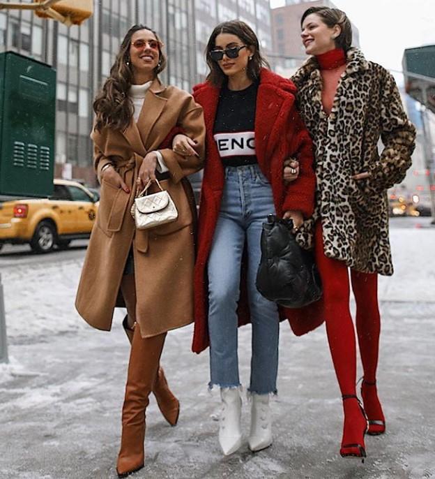 kıış modası mom jean kombinleri 2020