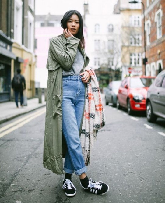 kış modası 2020 mom jeanler