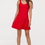 kısa boylu kadınlar için hm elbise modelleri