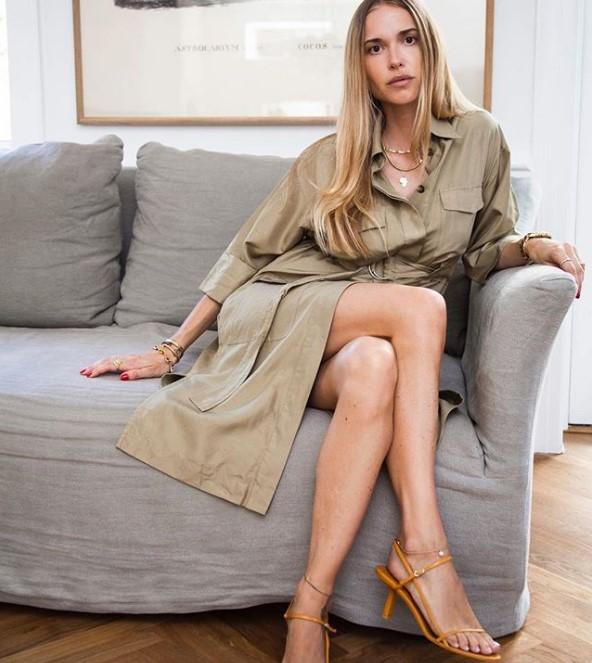 kren rengi sonbahar elbiseleri 2019 2020