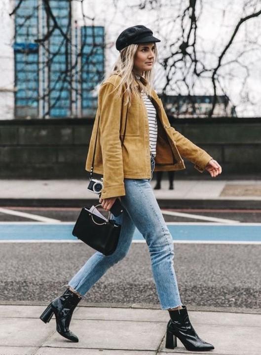 sonbahar kış modası mom jean kombinleri 2020