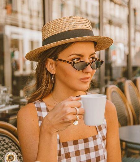 Yaz şapkaları Bayanlar için en havalı modeller