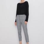 Zara ekose pantolon modelleri 2020