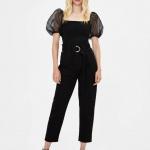 Bershka sonbahar kış pantolon modelleri 2020
