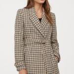 HM Sonbahar Bayan Kruvaze Ceket Modeli