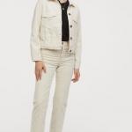 HM sonbahar kış kadife pantolon modeli