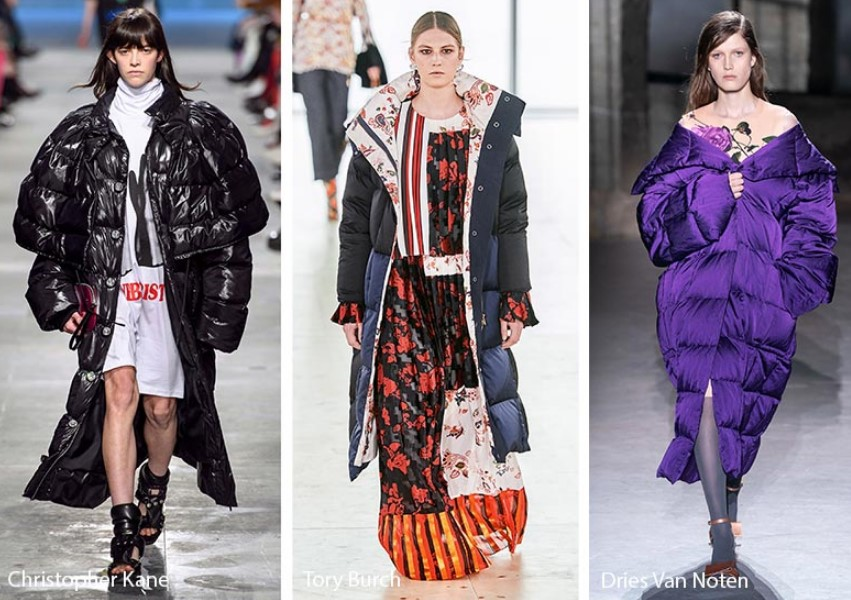 Sonbahar Kış Moda Trendleri Şişme Montlar 2019 2020