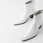 Zara beyaz bot modelleri 2020