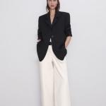 Zara kemerli bol pantolon modeli 2020
