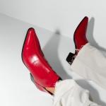 Zara kırmızı bot modeli 2020