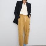 Zara sonbahar kış bayan pantolonlar 2020