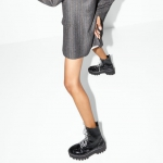 Zara sonbahar kış düz bot modelleri 2020