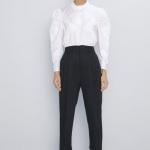 zara sonbahar kış kumaş pantolon modelleri 2019 2020
