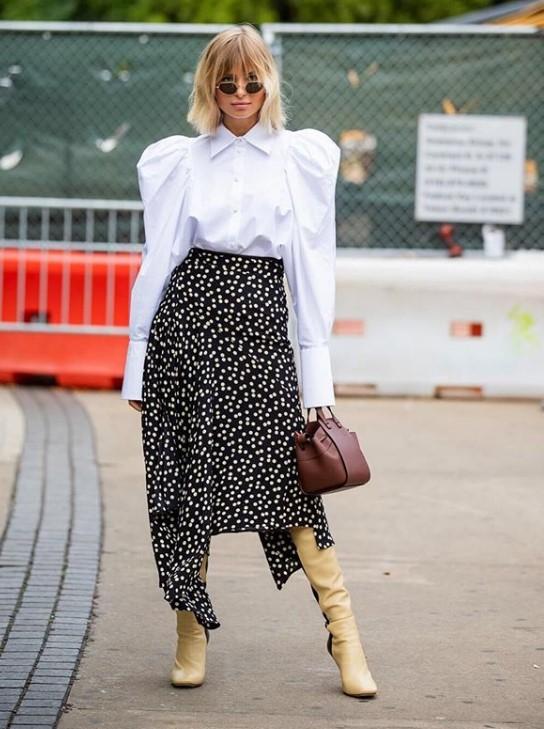 bayan sonbahar sokak modası kombinleri 2019 2020