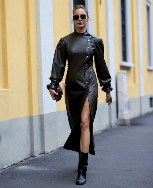 kadın sonbahar kış sokak modası 2020
