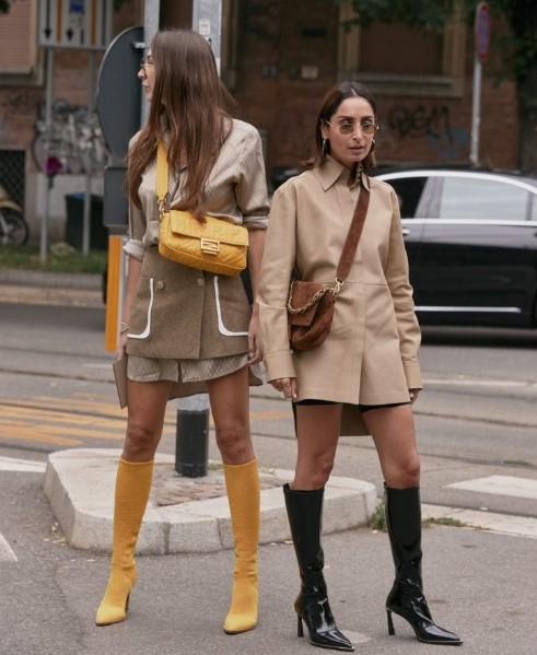 kış sokak modası kombinleri 2020