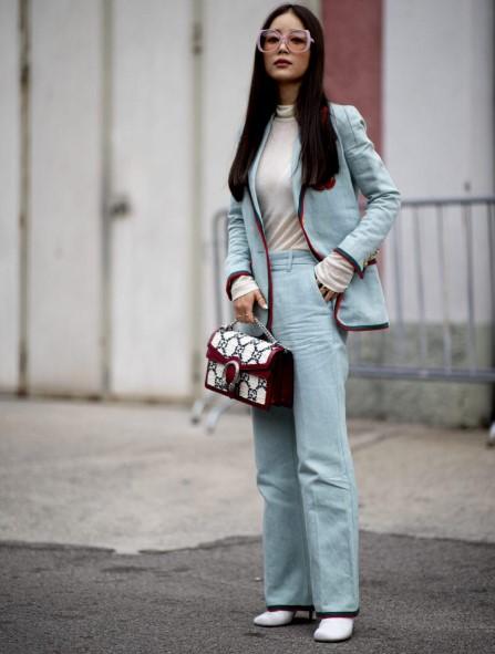 Milano sonbahar kış sokak modası 2020