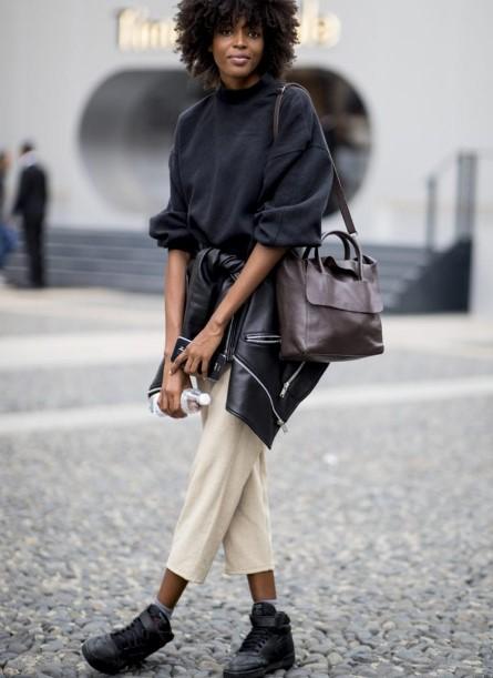 Milano'nun sonbahar kış sokak modası 2020