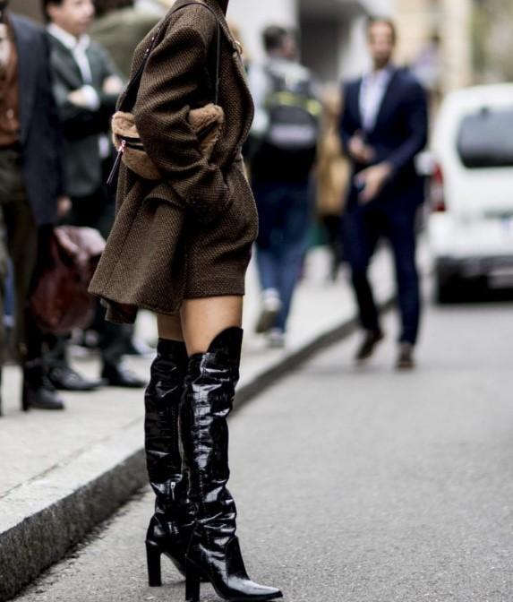 siyah uzun çizme modelleri 2020