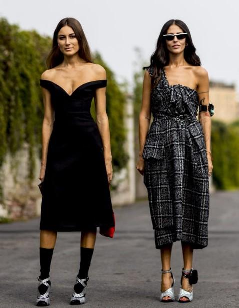 sonbahar elbise modelleri sokak modası 2020