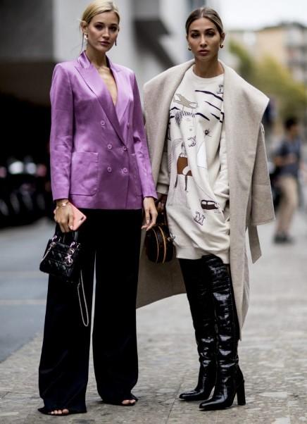 sonbahar kış bayan sokak modası 2020