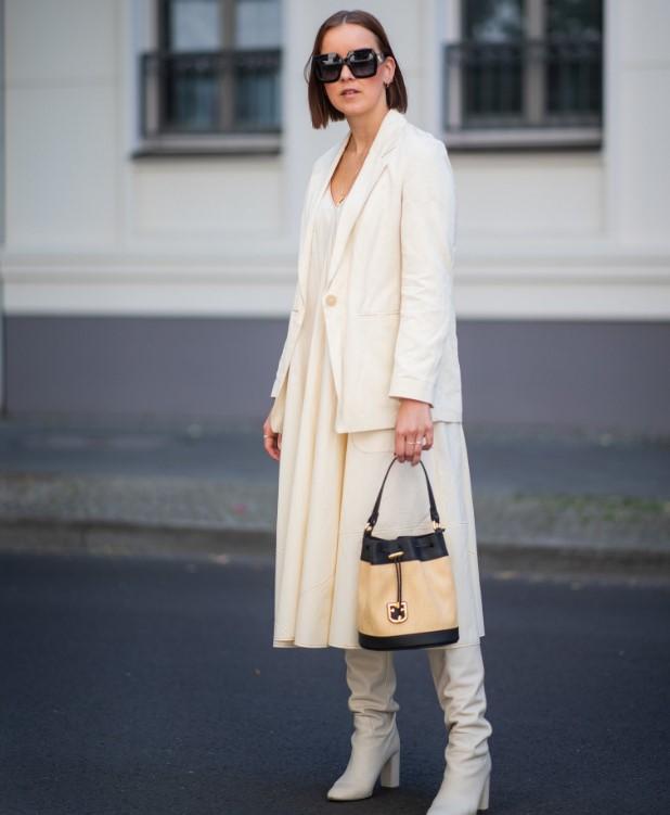 sonbahar kış modası uzun çizme kombinleri 2020