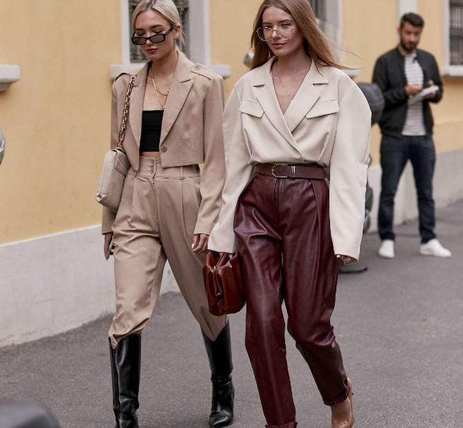 sonbahar kış sokak modası kombinleri 2020
