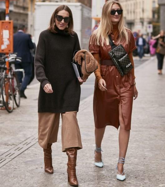 sonbahar kış sokak modası trendleri 2020
