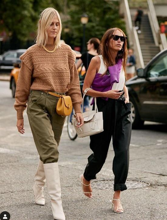 sonbahar sokak modası 2020