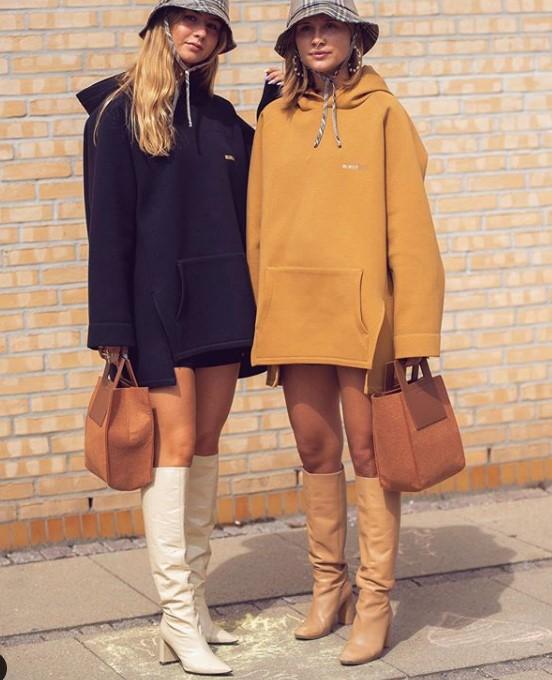 sonbahar sokak modası sportif ve şık