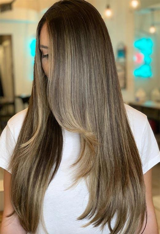 uzun katlı saç kesimleri ve modelleri 2020 2021