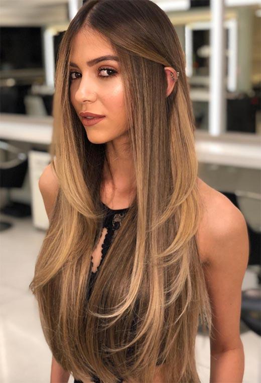 uzun katlı saç kesimleri ve modelleri 2020 21