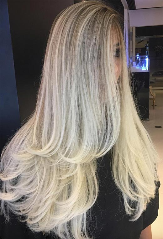 uzun katlı saç modelleri 2020 2021