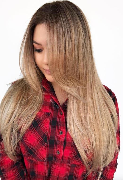 uzun katlı saç modelleri 2020 2121