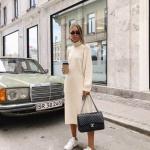 uzun kazak elbise kombinleri 2020