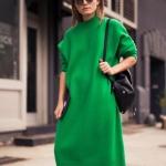 yeşil kazak elbise modeli 2020