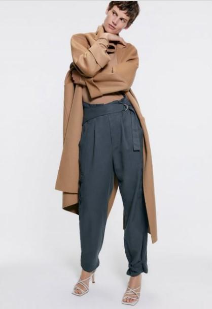 Zara kış pantolon modelleri 2020