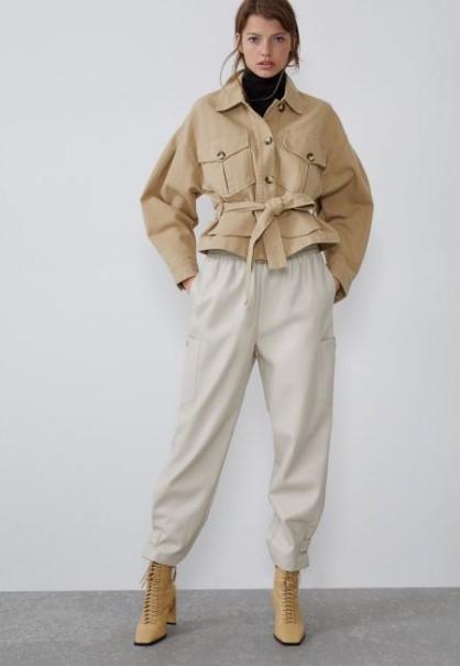 Zara sonbahar kış pantolon modelleri 2020