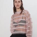 Zara transparan bluz modeli 2020