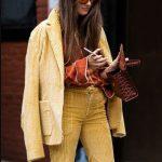 bayan kadife ceket pantolon modeli 2020